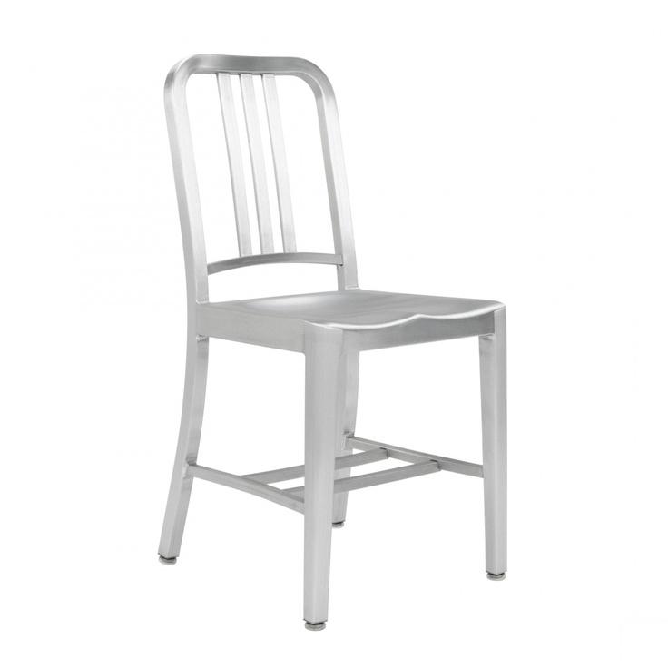 Emeco US Navy chair aluminum  Furniture  Pinterest