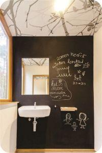 Chalkboard Paint Wall Ideas   Inspirations   Pinterest