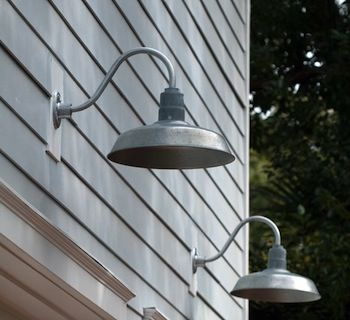 Galvanized Gooseneck Lights