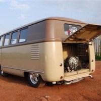 Vw barn door bus | Caravans, Tiny Houses and Trailers ...