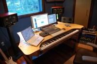 DAW desk | Project studio | Pinterest