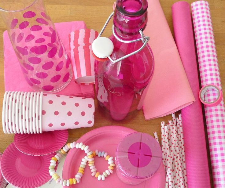 Hot pink party #Cute #Decorations #SleepPink
