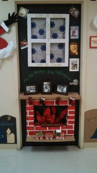 Reindeer Christmas Door Decorating Ideas