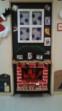 Reindeer Christmas Door Decorating Ideas ...