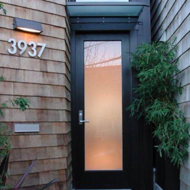 modern front door
