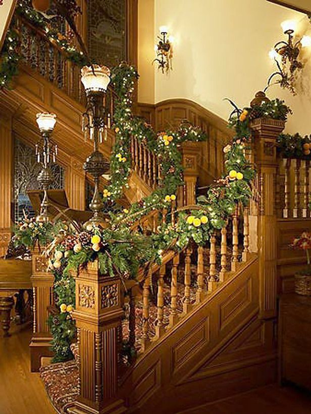 Beautiful Victorian stairway