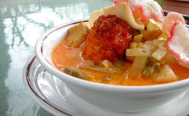 Ketupat Sayur Indonesian Kuliner Pinterest