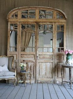 vintage door set.jpg. Love