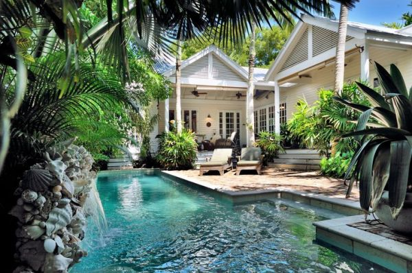 tropical cottage pools