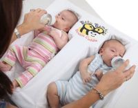 Double Cuddle Twin Bottle Feeding Pillow   Everything ...