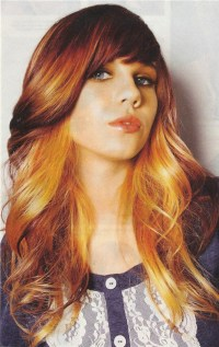 Two tone hair color | Style | Pinterest