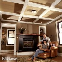 diy ceiling beams