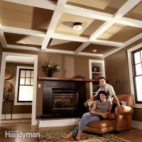 diy ceiling beams | dIY | Pinterest