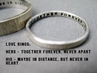 Quote Idea - Love Rings, His n Hers, Promise Rings ...