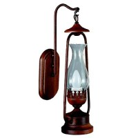 Rustic Lantern Wall Sconce | Interiors | Pinterest