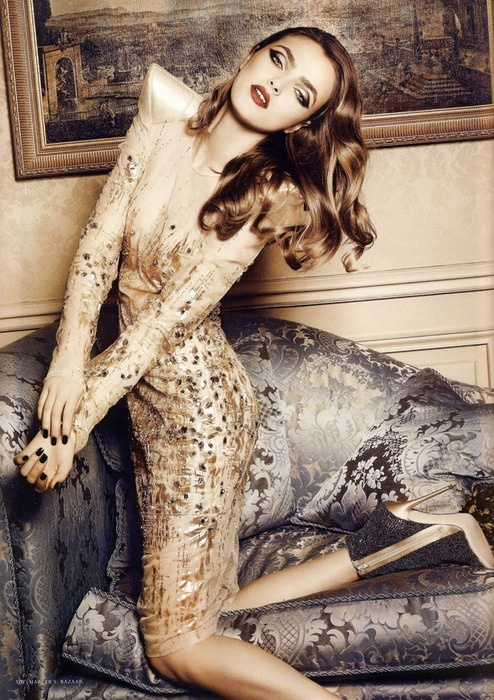 Love the styling~ Harper's Bazaar Romania   Sophie Vlaming by Sylvie Malfray