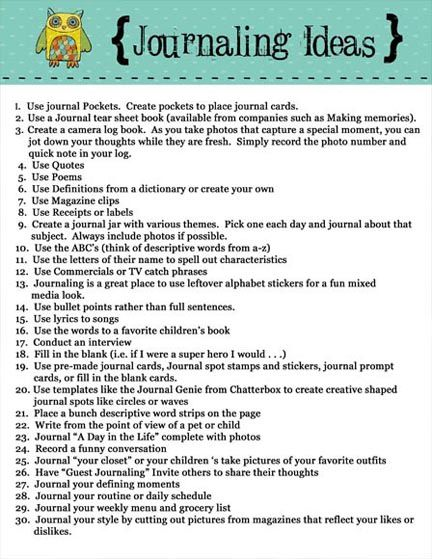 journaling ideas There are some good ideas here. I like the journaling pockets. Mine could use more of those! I already use bullets. Worth a look :)
