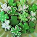 Shamrock cookies gift and party ideas pinterest
