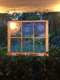 Sea Glass Window Art | Garden Ideas I Love | Pinterest