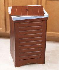 Decorative kitchen trash bin | Crafty Ideas | Pinterest