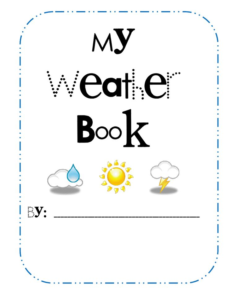 weather worksheet: NEW 437 PRINTABLE WEATHER BOOKS FOR