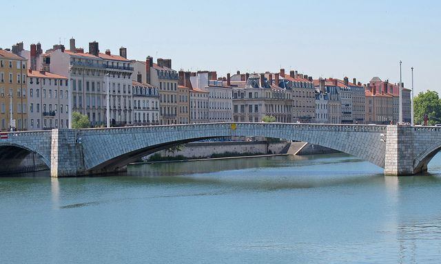 Lyon, France - the Rhone River