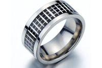 Wide Band Ring/Men's Wedding Band Ring Man/Men's Promise