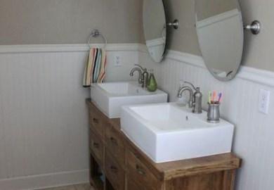 Homemade Bathroom Vanity Ideas