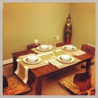 Low dining table | Living Room | Pinterest