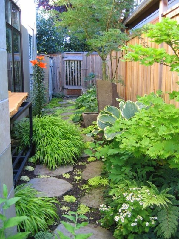 side yard garden design ideas