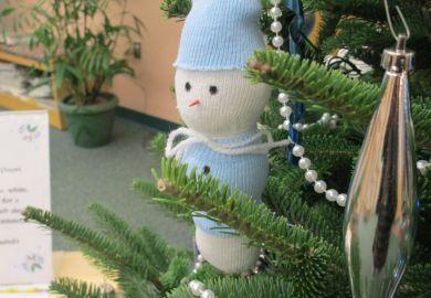 Christmas Snowman Tree