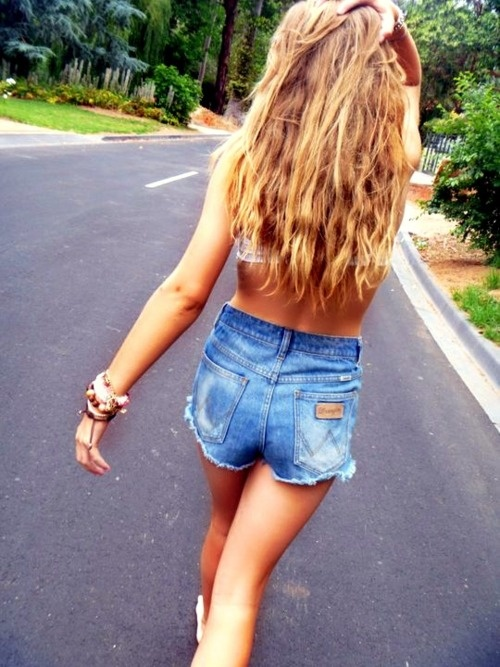 I want some mom jeans cut into shorts for summer...