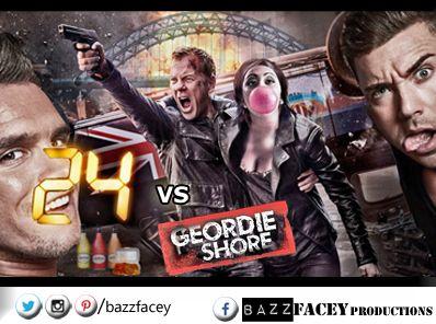 24 VS Geordie Shore