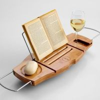 bathtub book/drink holder