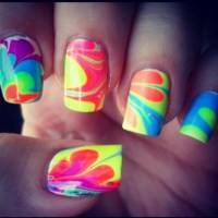 Hippie nails | nails. | Pinterest