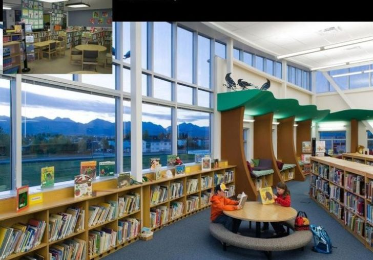 Decorating A Children S Library