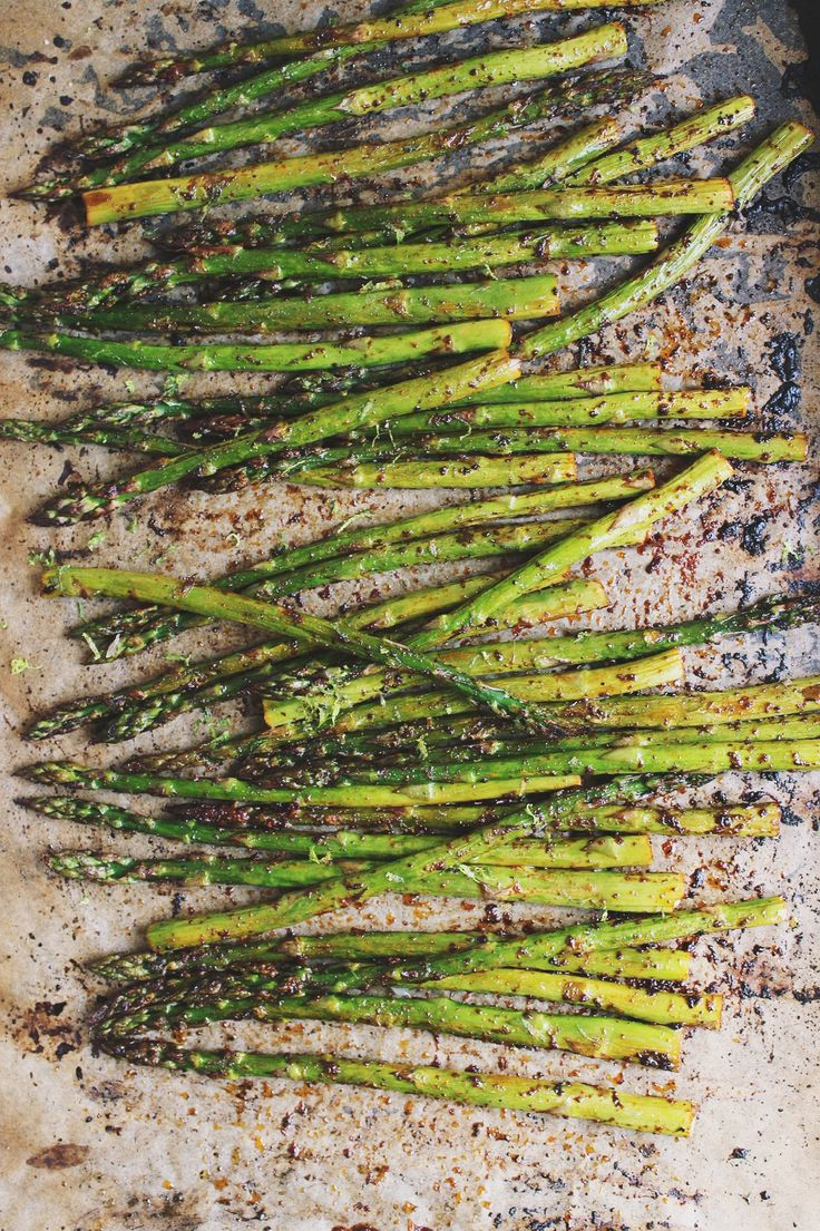 Chili + Lime Roasted Asparagus | With Food + Love | #vegan #glutenfree #paleo