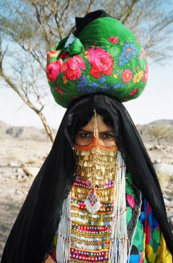 Africa | Woman in the south Sinai region, Egypt |  ©Deborah Shea Doyle