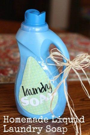 make your own laundry deturgent