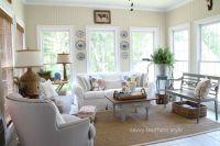 sunroom decor @ Savvy Southern Style | Sunroom | Pinterest
