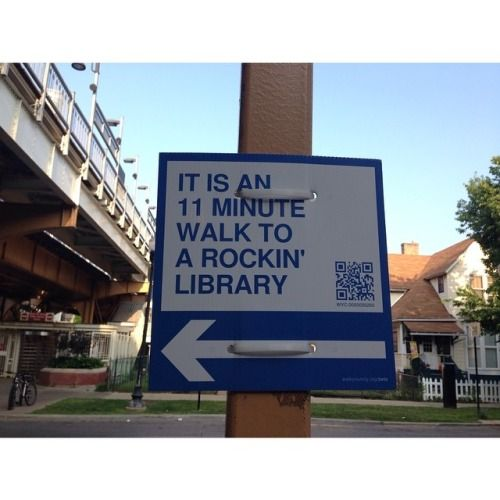 thelifeguardlibrarian: Well that's true. Walkyourcity.org huh.