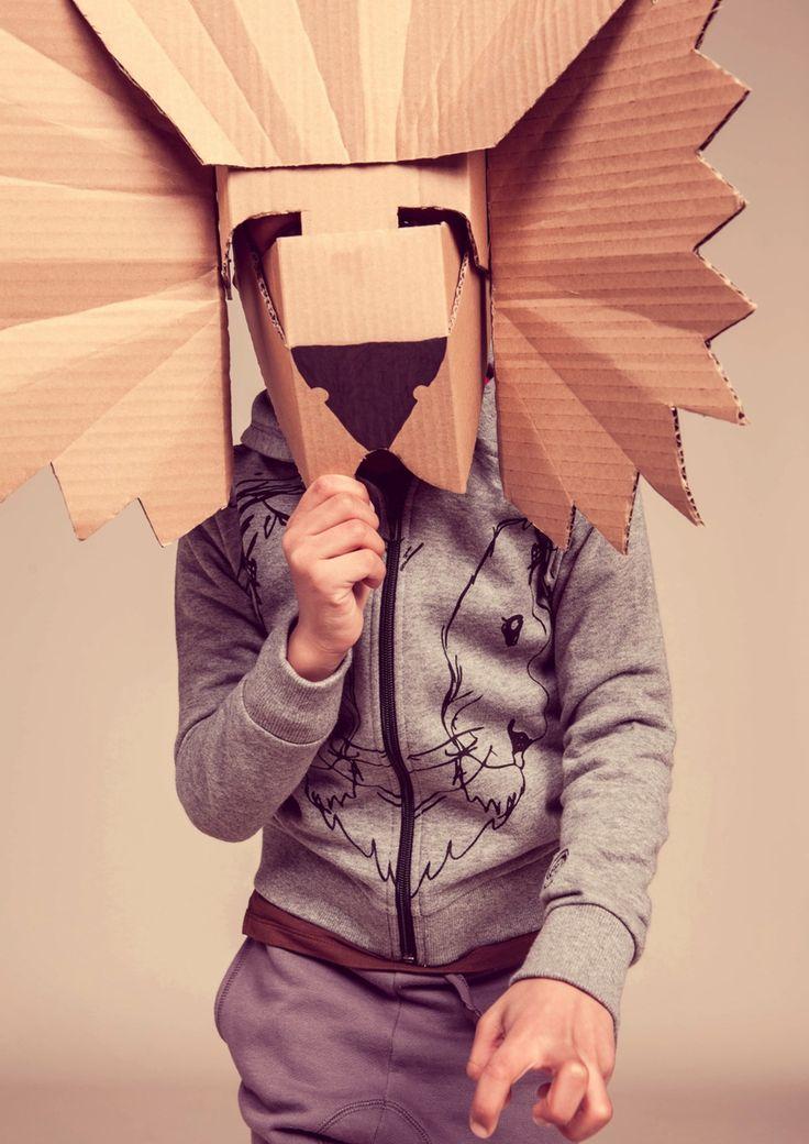 #DIY paper lion