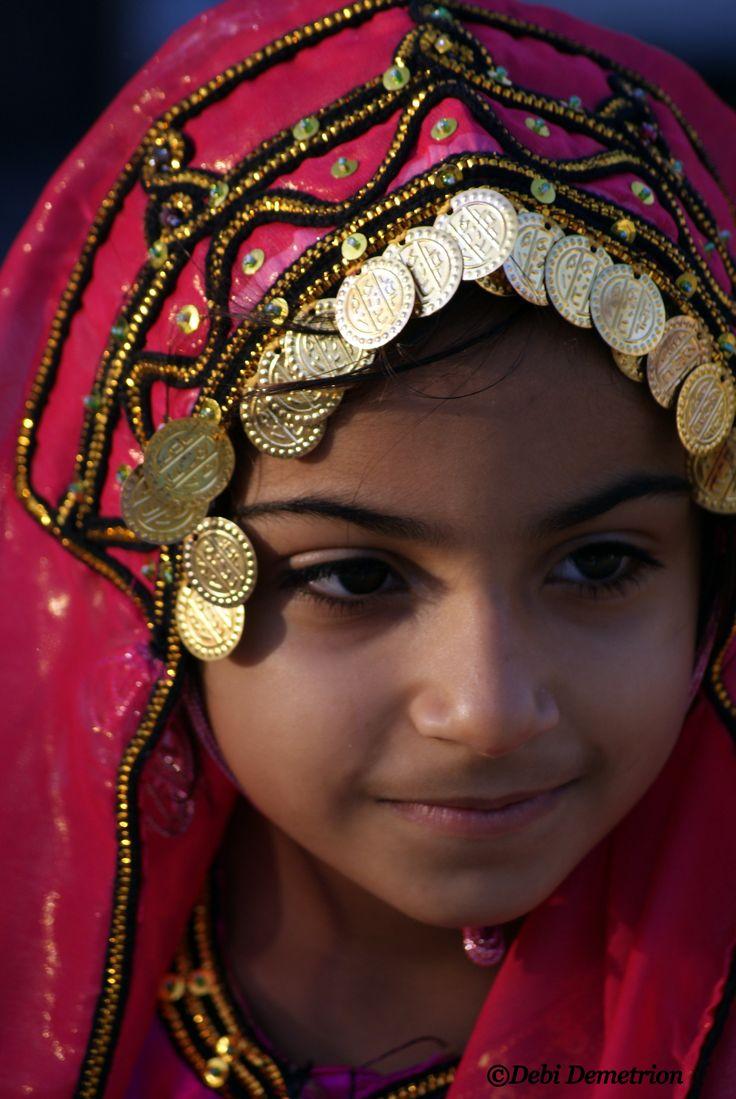 Giovane ragazza Oman
