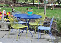 Wrought Iron Patio Furniture Paint