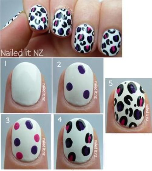 Nail Arts for Short Nails Tutorial