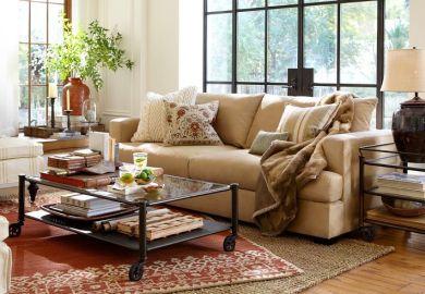 Living Room Ideas Light Brown Sofa