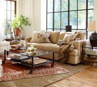Pottery Barn Living Room | To Nest - Living Rooms | Pinterest