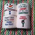 Custom embroidery on toilet paper for that hard to gift person www