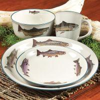 Trout Dinnerware Set - 16 pcs | Kitchen | Pinterest