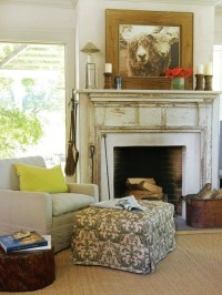 Fireplace mantel decor | Interiors | Pinterest